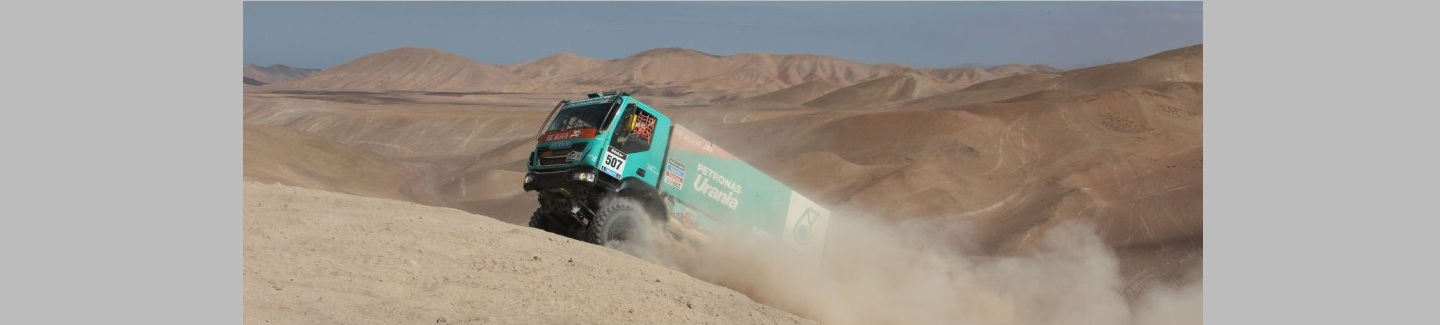 Dakar 2014: De Rooy fights on, remains leader in overall standings