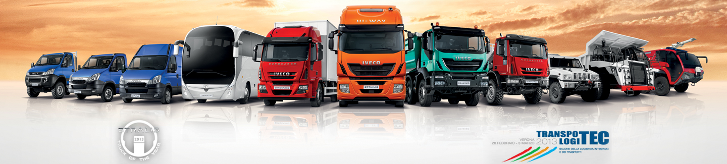 Iveco to take part at Transpotec 2013 with full truck and bus line-up
