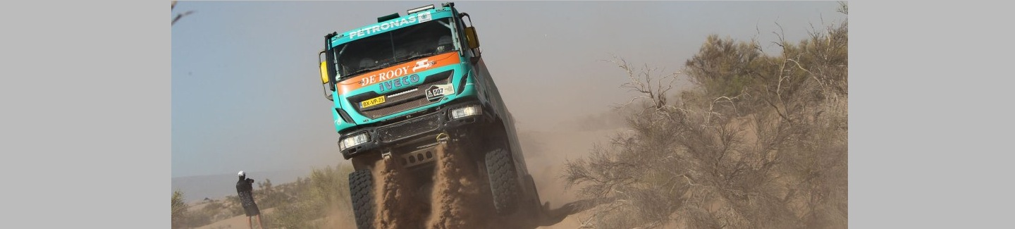 Dakar 2014: Iveco and De Rooy still leading after gruelling fifth stage