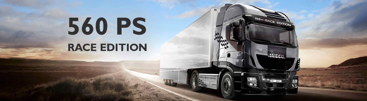 STRALIS 560 PS RACE EDITION