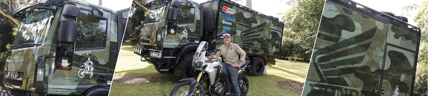 Grand Prix motorcycle Champ Daryl Beattie builds Australia's toughest Iveco