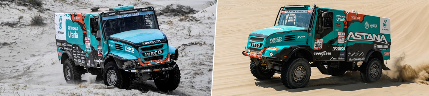 IVECO takes on the toughest challenges in the world, from the Africa Eco Race to the Dakar 2018
