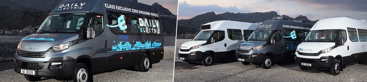 IVECO is sustainable mobility partner of the Taormina G7 Summit