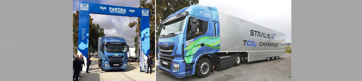 IVECO Stralis NP to drive across Europe from Lisbon to St. Petersburg