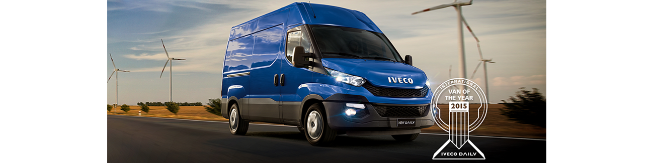 "Nye Iveco Daily er ""Van of the Year 2015"""