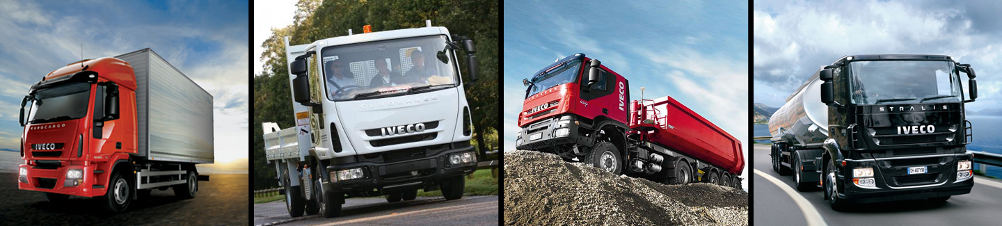 Iveco Trakker do transportu drewna