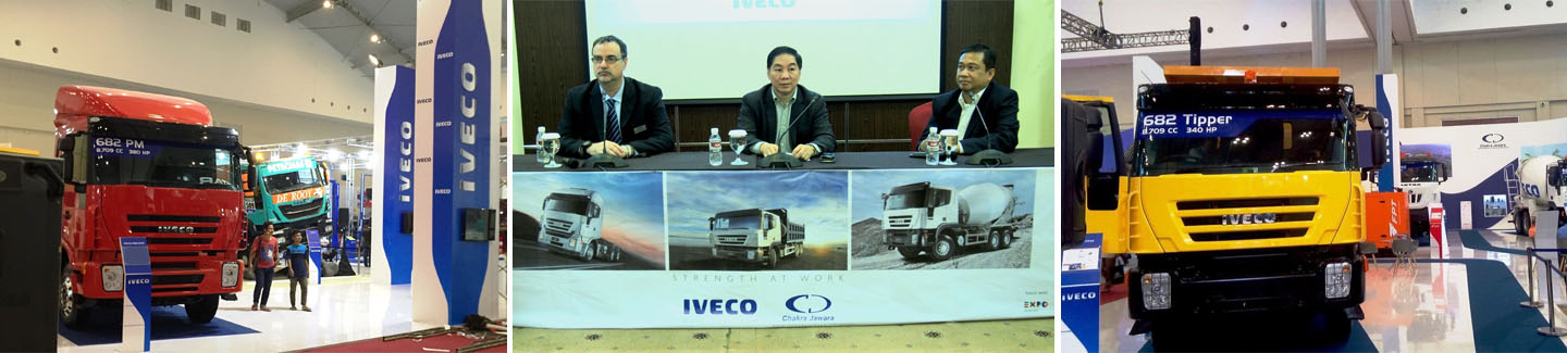 Iveco 682 Heavy Duty Truck Makes Its Debut in Indonesia