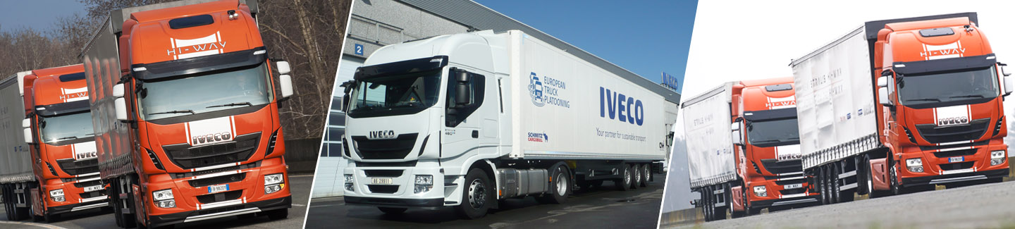 Iveco to participate in world's first Truck Platooning Challenge