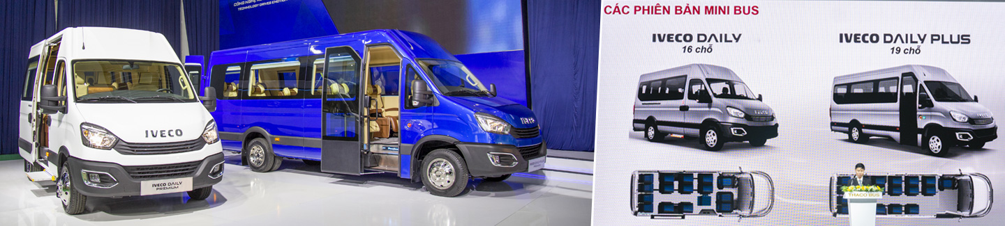 IVECO and THACO launch Daily Minibus in Vietnam