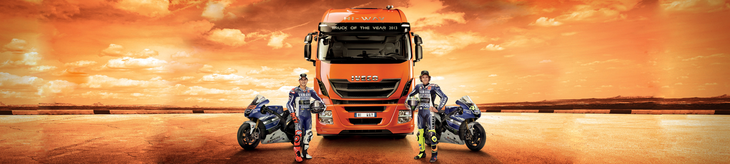 Iveco is confirmed Official Sponsor of the MotoGP and Yamaha Factory Racing Team