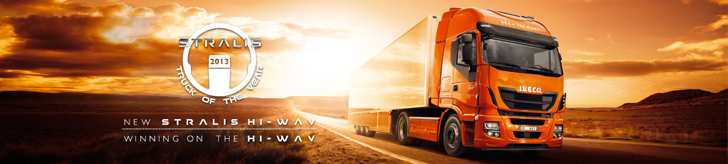 Stralis Hi-Way: Truck of the Year 2013