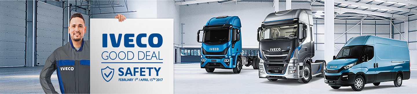 ​STAY SAFE ON THE ROAD WITH IVECO