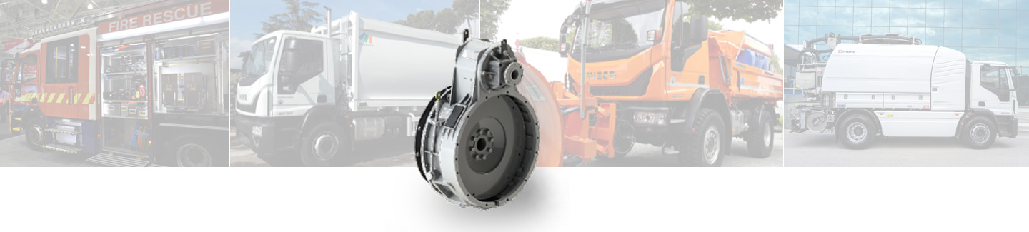 IVECO Eurocargo. Motor Power Take Off (PTO)