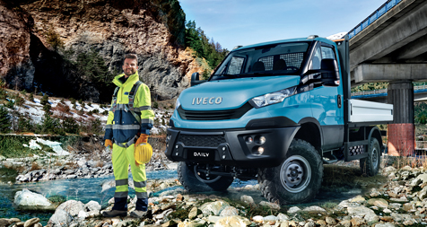 new daily 4x4 van of the year 2015