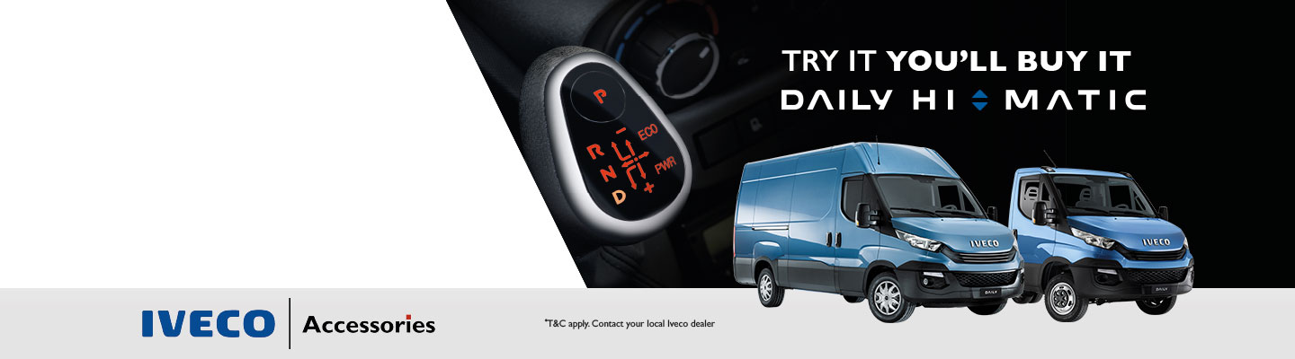 Test Drive the New Daily Hi-Matic