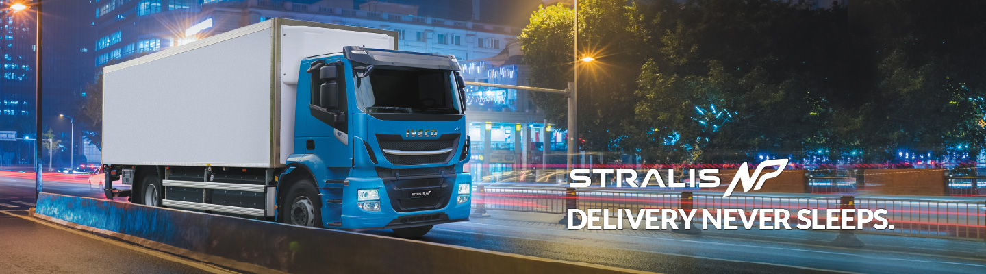 Stralis Rigid NP - Night time delivery