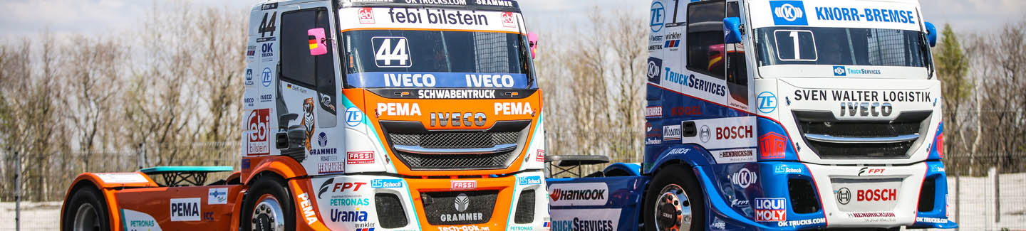 IVECO partners with the FIA European Truck Racing Championship 2019 and prepares to line-up on the grid