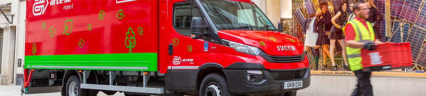 IVECO's Daily Natural Power helps deliver emissions pledge for green