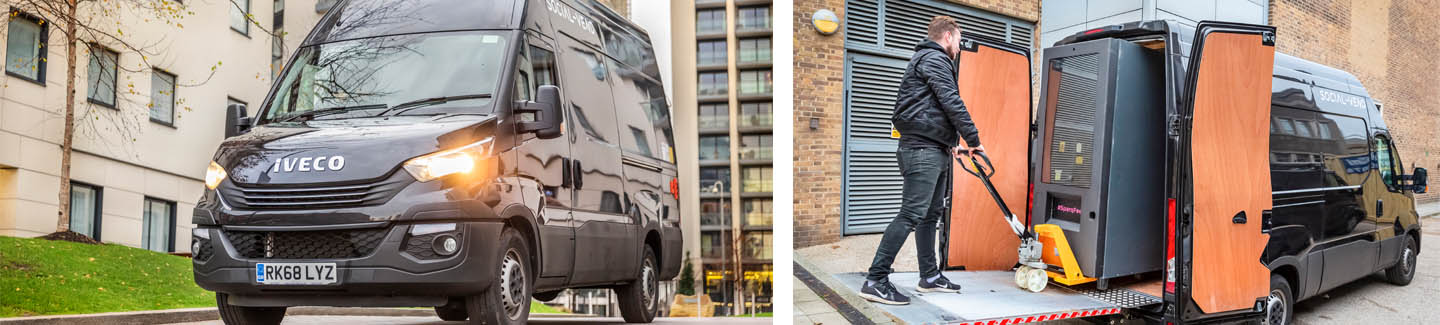 IVECO's Daily Hi-Matic helps Social Vend reach new heights