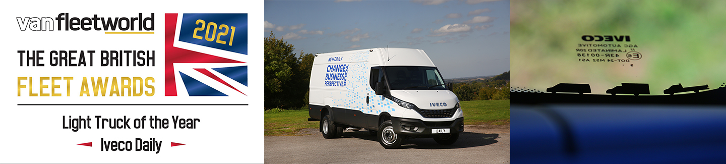 PRESS RELEASE: IVECO Daily takes Light Truck of the Year in 2021 Van Fleet World Great British Fleet Awards