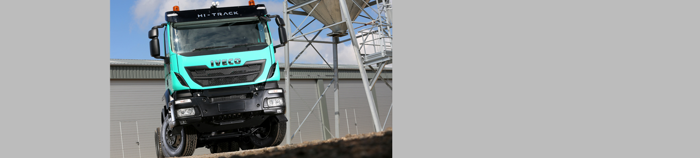 Iveco Trakker competes as the toughest truck at the CV Show
