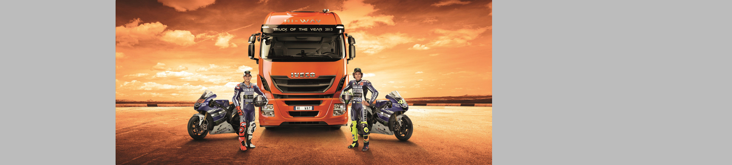 Iveco is Official Sponsor of the 2013 MotoGP
