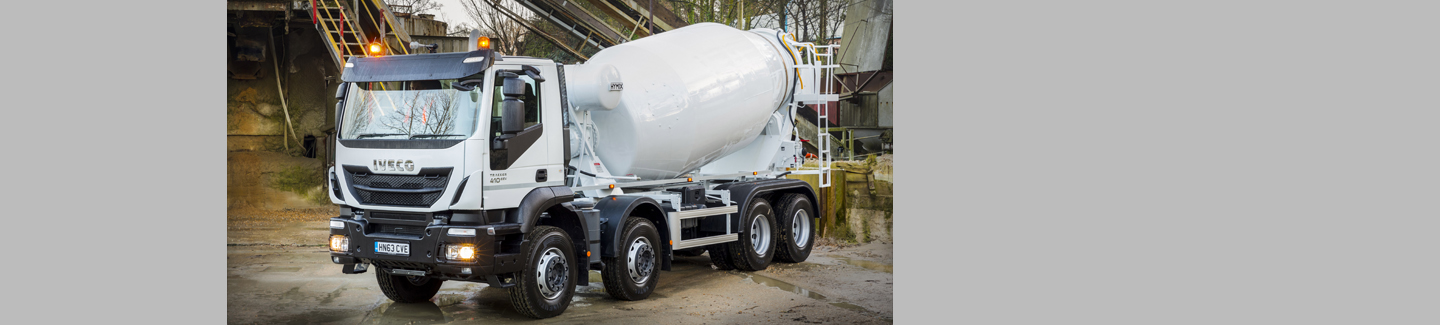 Iveco Trakker Hi-Land mixes it with Johnston Services