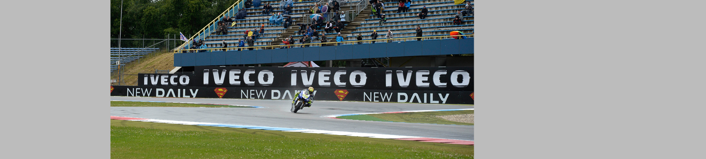 Iveco is the official sponsor of the MotoGP Assen circuit