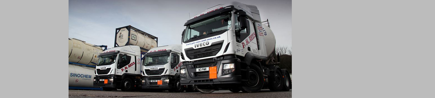 Stralis Hi-Road trio join PM Rees and Sons fleet