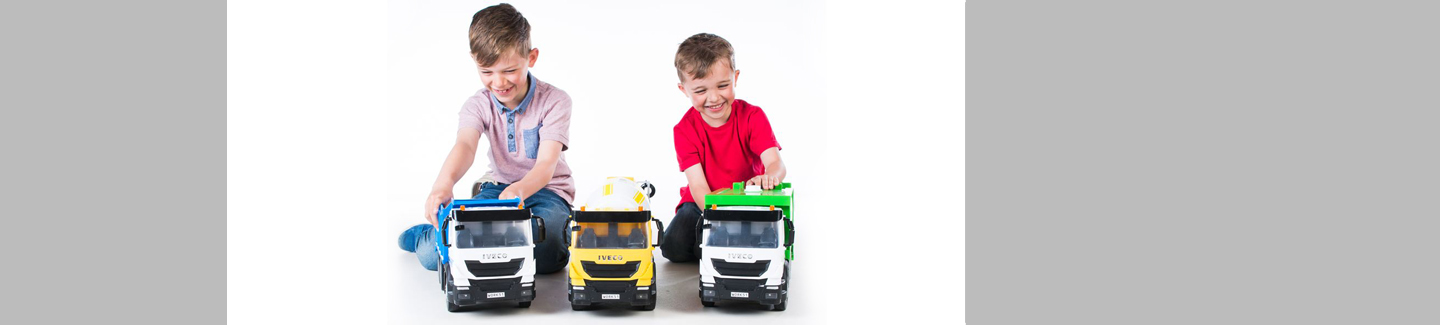 TOMY launches new toy range for truck fans
