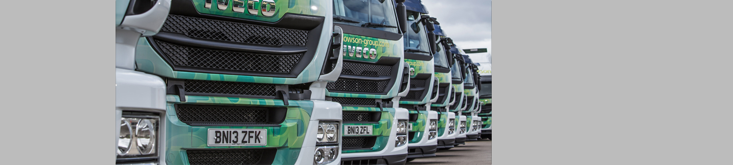 Iveco secures order for 21 new Stralis Hi-Road tractors from the Widdowson Group