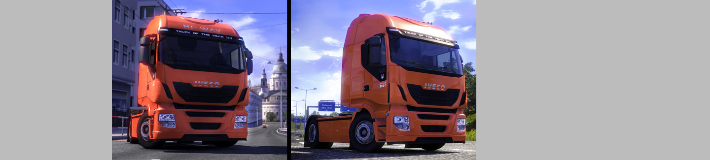 Drive the New Stralis Hi-Way with Euro Truck Simulator 2