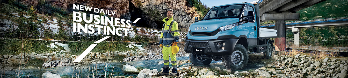 Noul Daily 4x4 Iveco Gama